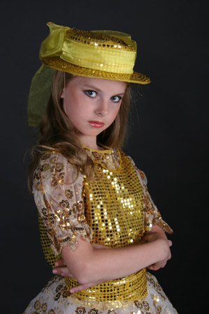 Victoria Beluntsova, young model, born 1997, Moscow, Russia. Photo taken in 2007