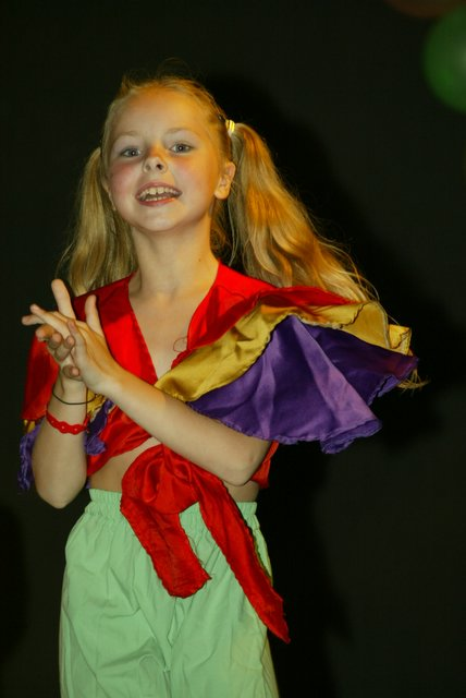 Victoria Beluntsova, young model, born 1997, Moscow, Russia. Photo taken in 2005